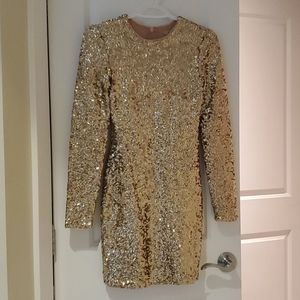 UO Sequin Party Dress